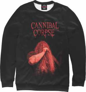 Купить George Fisher (Cannibal Corpse), Printbar, Свитшоты, MZK-217329-swi-1