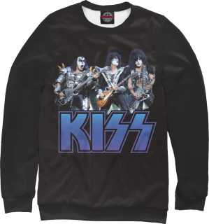 Купить Kiss Metal Rock, Printbar, Свитшоты, KIS-708392-swi-1