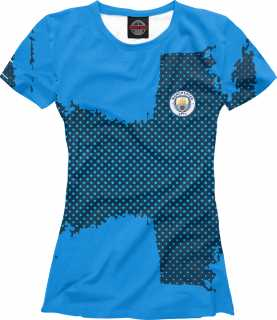 Купить Manchester City sport uniform, Printbar, Футболки, MNC-295600-fut-1